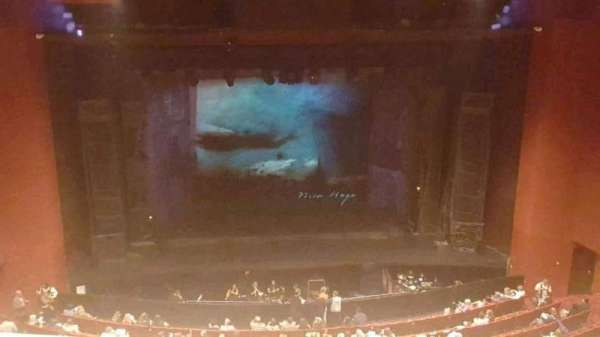 San Diego Civic Theatre, section: balcony c, row: p, seat: 9