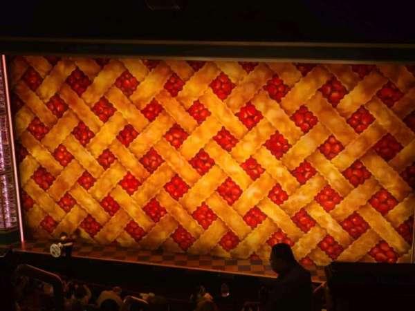 Ethel Barrymore Theatre, section: rear mezz, row: a, seat: 2