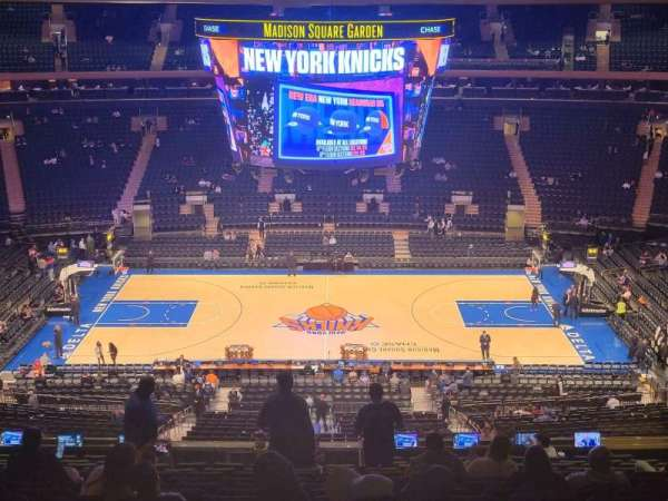 Madison Square Garden, section: 211, row: 15, seat: 13