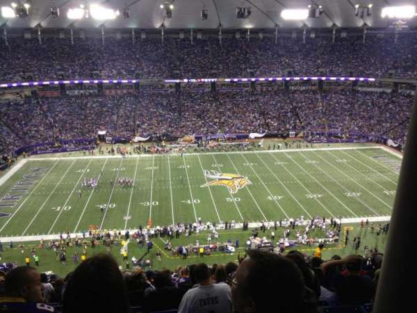 Mall Of America Field, section: 211, row: 29, seat: 13