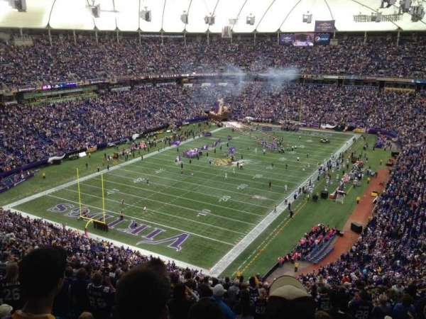 Mall Of America Field, section: 237, row: 27, seat: 16