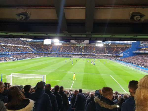 Stamford Bridge, section: Matthew Harding Lower, row: DD, seat: 54