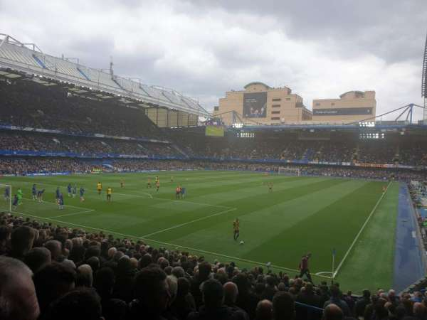 Stamford Bridge, section: Matthew Harding Lower, row: X, seat: 321