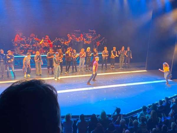 Broadhurst Theatre, section: Mezzanine L, row: B, seat: 5