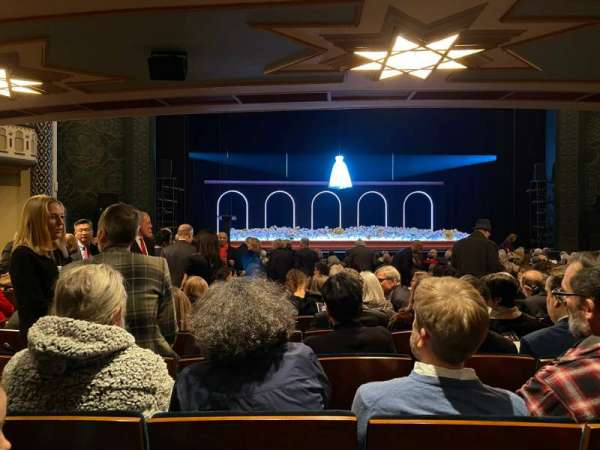 New York City Center, section: Orchestra, row: O, seat: 103