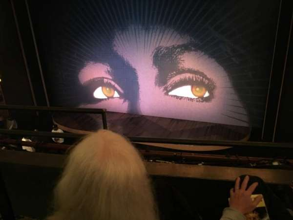 Lunt-Fontanne Theatre, section: Front Mezzanine R, row: B, seat: 4