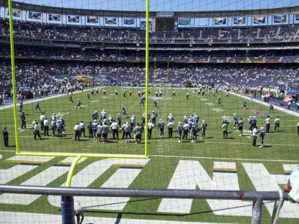 SDCCU Stadium, section: P52, row: 3, seat: 10