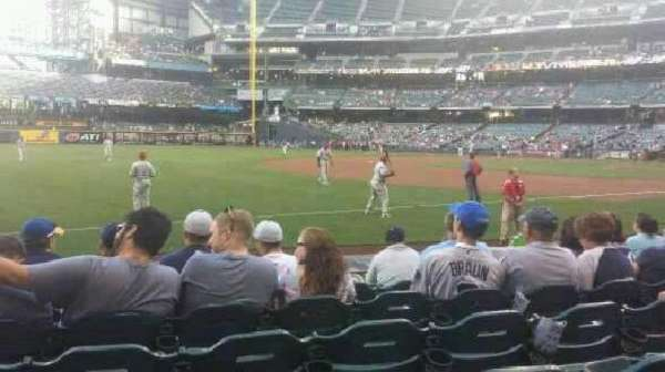 American Family Field, section: 126, row: 7, seat: 13