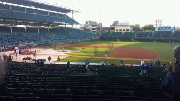 Wrigley Field, section: 225, row: 6, seat: 19