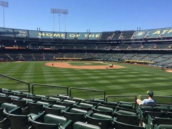 Oakland Coliseum, section: 137, row: 34, seat: 7