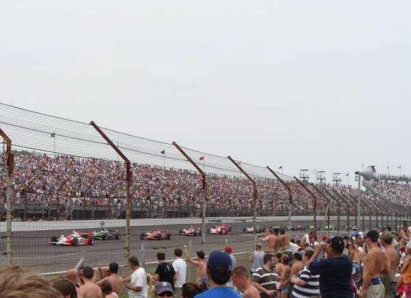 Indianapolis Motor Speedway, section: General Admission, row: Turn 4