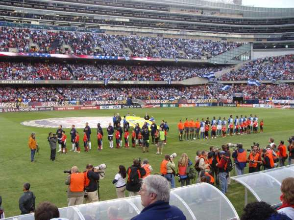 Soldier Field, section: 140, row: 4, seat: 7
