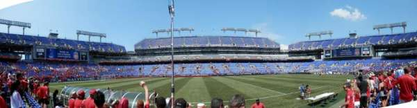 M&T Bank Stadium, section: 127, row: 3, seat: 20