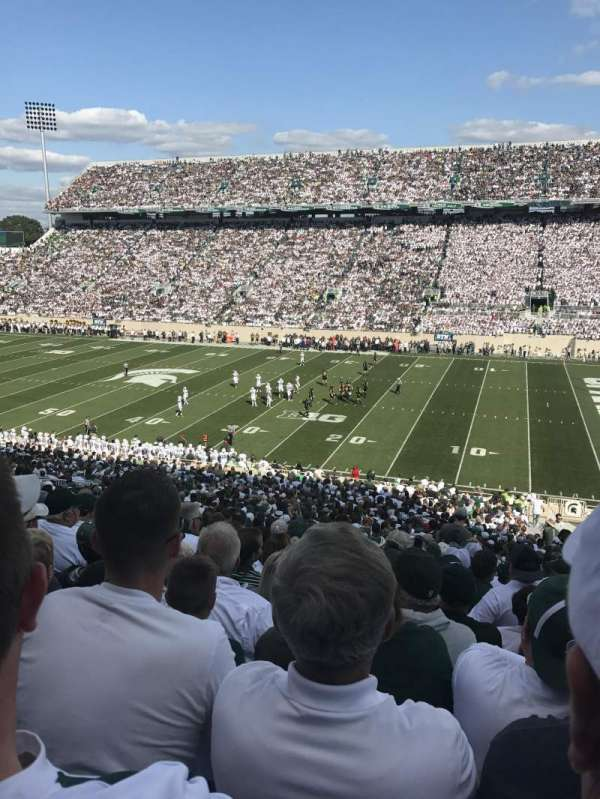 Spartan Stadium, section: 21, row: 53, seat: 24