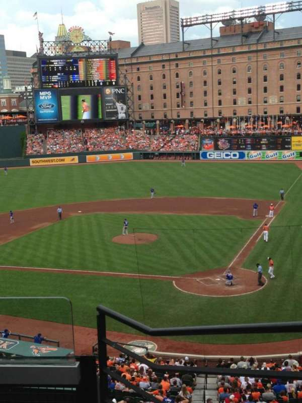 Oriole Park at Camden Yards, section: 242, row: 4, seat: 3