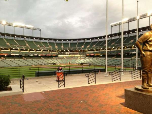 Oriole Park at Camden Yards, section: SRO