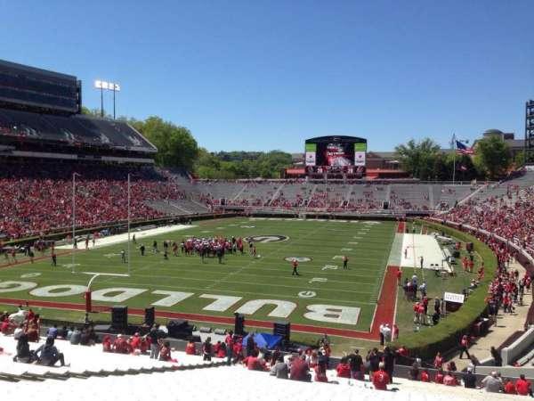 Sanford Stadium, section: 117, row: 44, seat: 15