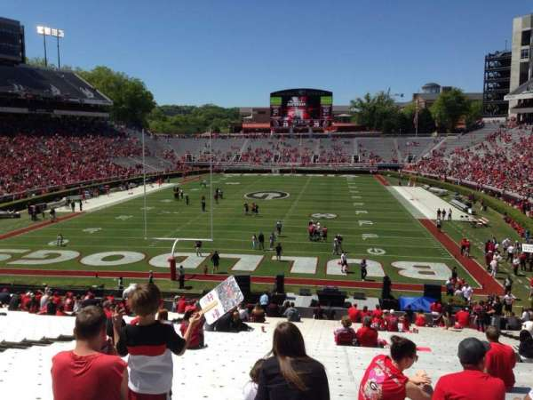 Sanford Stadium, section: 118, row: 44, seat: 15