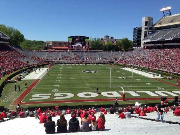 Sanford Stadium, section: 120, row: 44, seat: 15