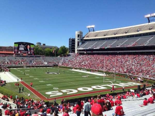 Sanford Stadium, section: 122, row: 45, seat: 10