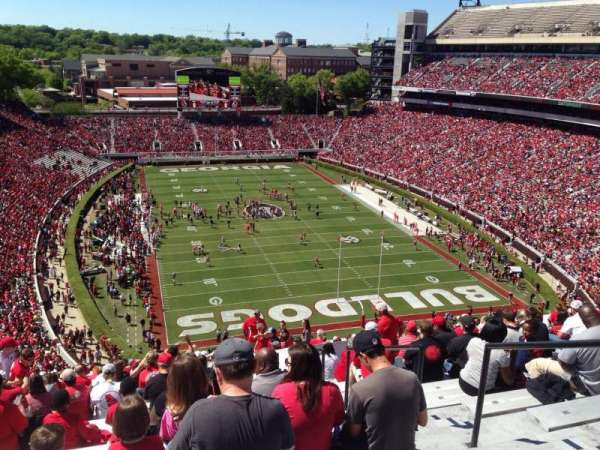 Sanford Stadium, section: 321, row: 22, seat: 4