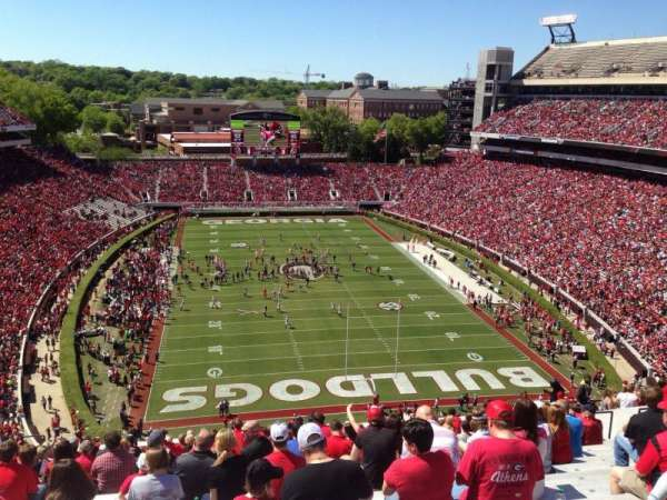 Sanford Stadium, section: 320, row: 22, seat: 17