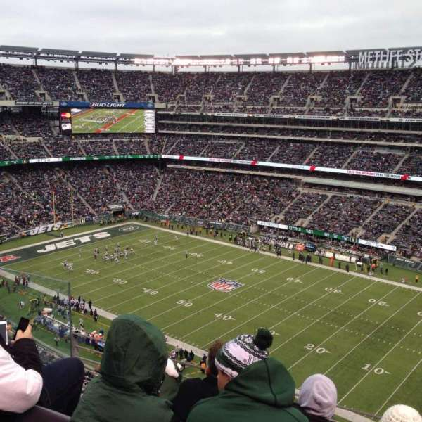 MetLife Stadium, section: 334, row: 8, seat: 14