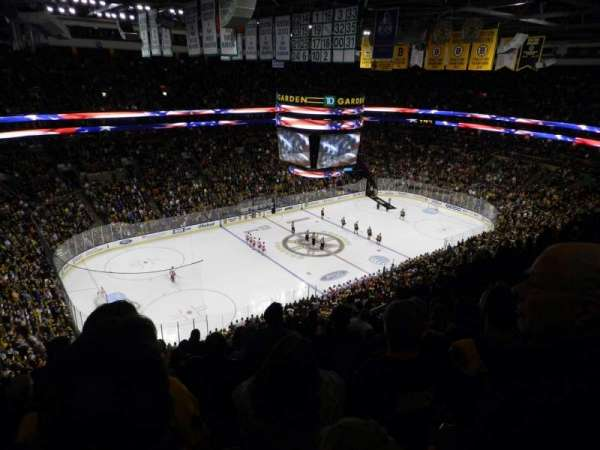 TD Garden, section: Bal 304, row: 12, seat: 13
