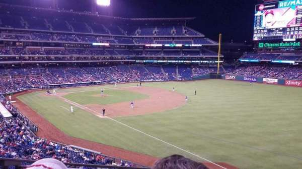 Citizens Bank Park, section: 208, row: 2, seat: 22