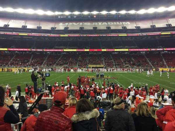 Levi's Stadium, section: 115VIP, row: 15, seat: 1