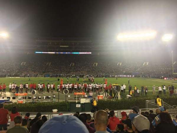 Rose Bowl, section: 5-H, row: 12, seat: 117