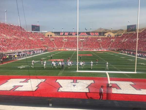 Rice-Eccles Stadium, section: S3, row: 3, seat: 15