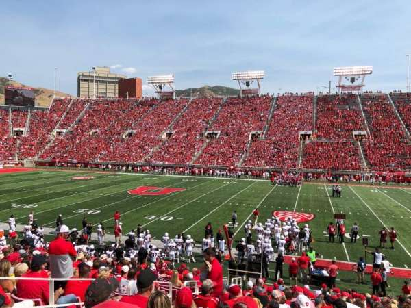 Rice-Eccles Stadium, section: W10, row: 18, seat: 5