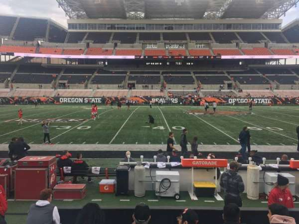 Reser Stadium, section: 12, row: 7, seat: 11