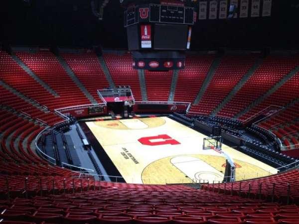 Jon M. Huntsman Center, section: V, row: 29, seat: 9