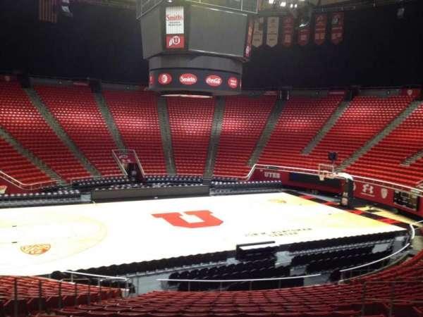 Jon M. Huntsman Center, section: B, row: 19, seat: 8