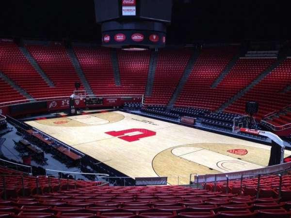 Jon M. Huntsman Center, section: J, row: 19, seat: 7