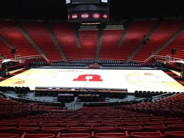 Jon M. Huntsman Center, section: M, row: 19, seat: 7