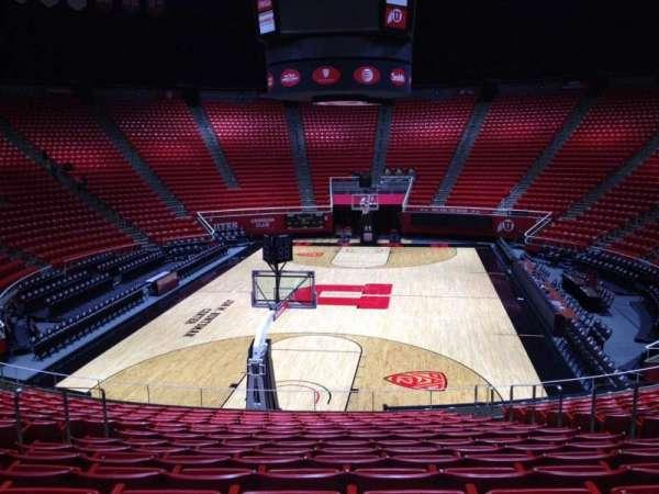 Jon M. Huntsman Center, section: T, row: 19, seat: 7