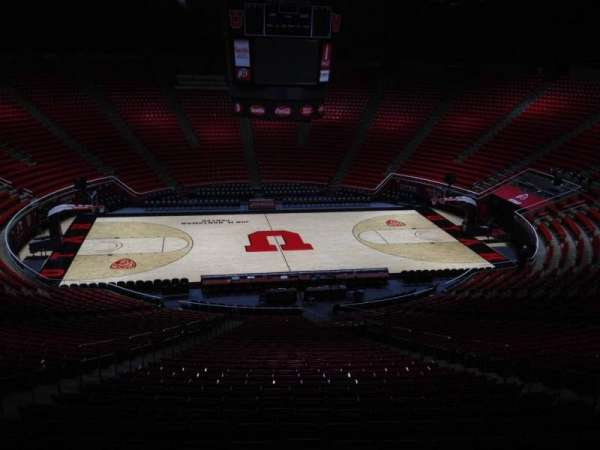 Jon M. Huntsman Center, section: nn, row: 1, seat: 18