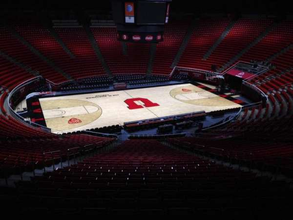 Jon M. Huntsman Center, section: pp, row: 1, seat: 18