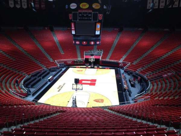 Jon M. Huntsman Center, section: tt, row: 1, seat: 18