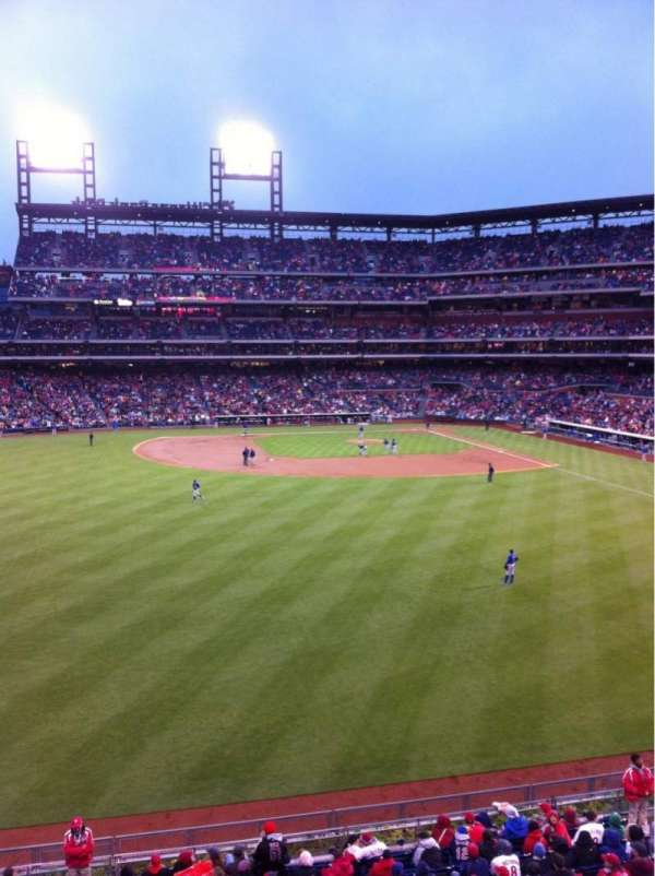 Citizens Bank Park, section: 244, row: 1, seat: 6