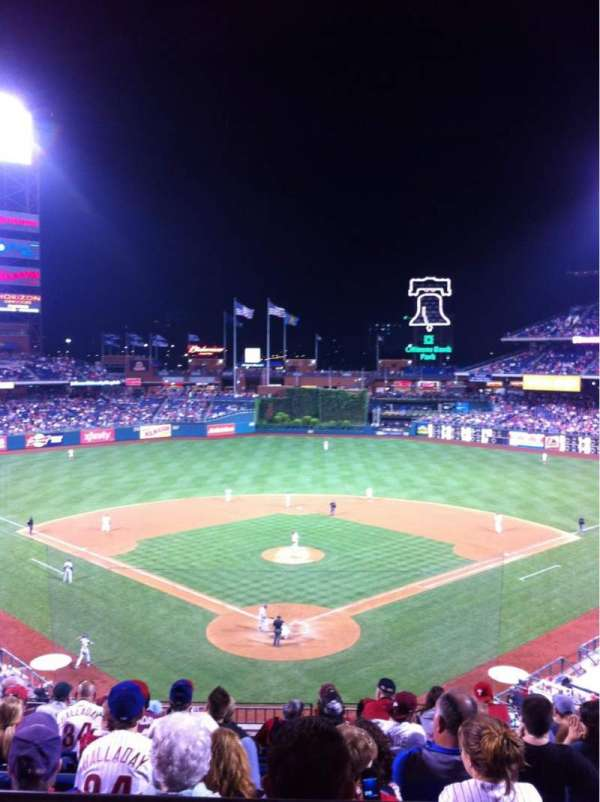 Citizens Bank Park, section: 222
