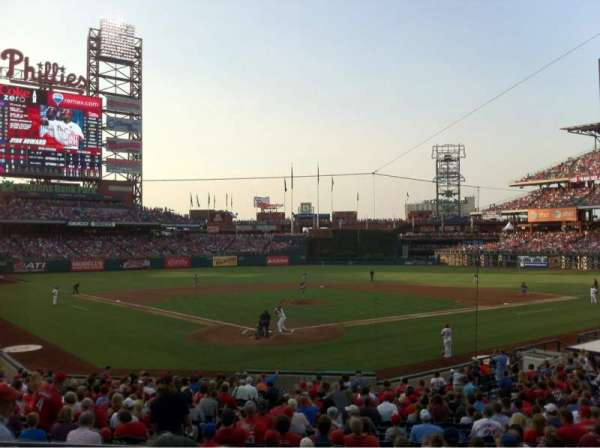 Citizens Bank Park, section: 123, row: 23, seat: 3