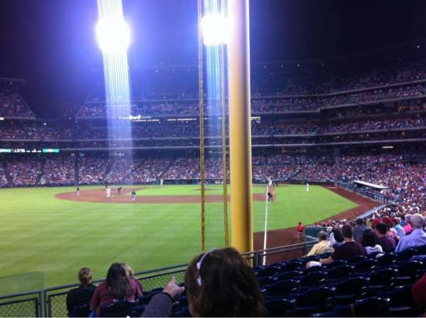 Citizens Bank Park, section: 140, row: 15, seat: 3