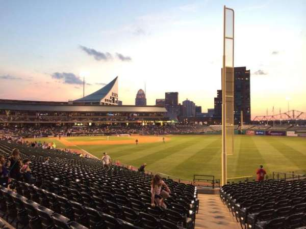 Louisville Slugger Field, section: 101, row: Z, seat: 24
