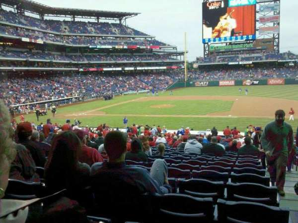 Citizens Bank Park, section: 116, row: 32