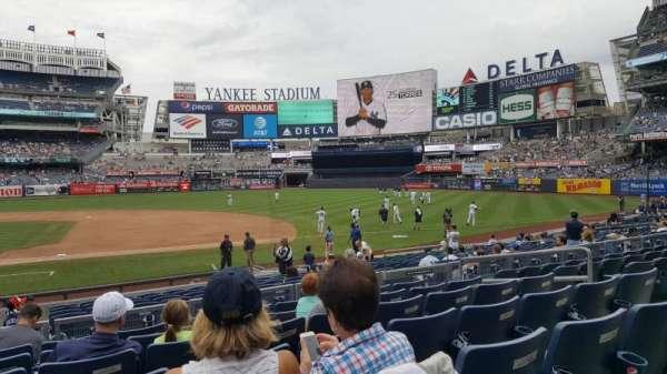 Yankee Stadium, section: 115, row: 7, seat: 9