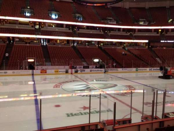 Honda Center, section: 223, row: K, seat: 7
